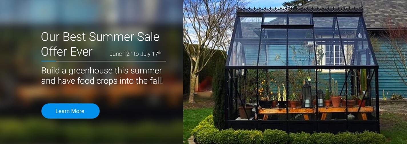 Summer Greenhouse Sale